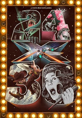 24x36 A Movie About Movie Posters Official Trailer 2017 Mondo Poster Documentary Hd Youtube