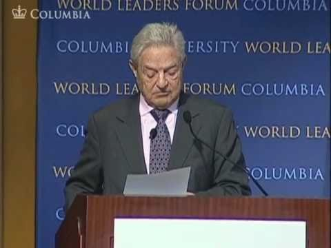 George Soros at the World Leaders Forum
