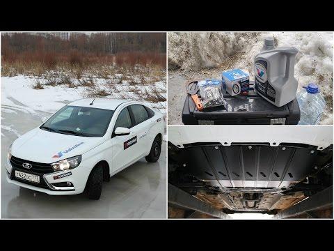 Lada Vesta - Какая сволочь там разместила масляный фильтр!? via ATDrive