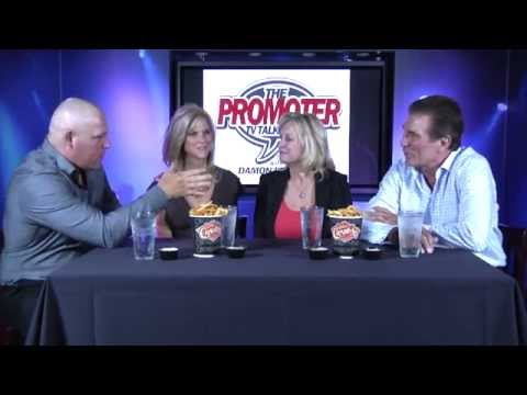 Damon Feldman is The Promoter with Vince & Janet Papale and Phil & April Margera