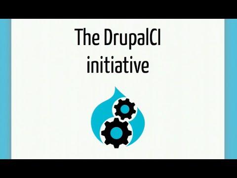 The DrupalCI initiative
