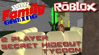 Let's Play Roblox! 2 Player Secret Hideout Tycoon Ep 02