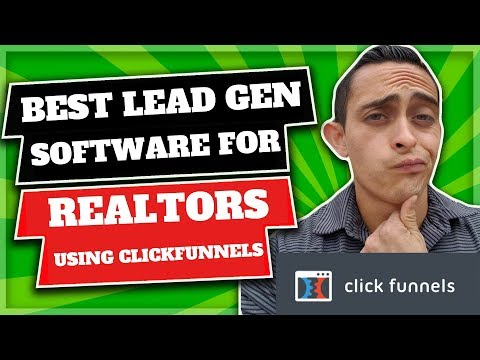 Real Estate Lead Generation Software (Using Clickfunnels)
