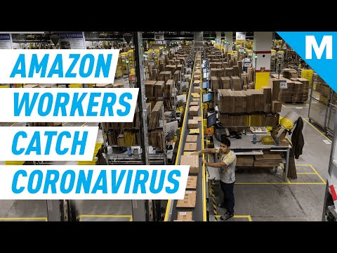 Coronavirus Is Spreading Through Amazon's Warehouses In The US   Mashable News