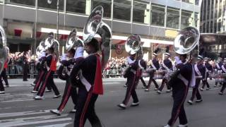 Thanksgiving Day Parade~2015~NYC~U. of Illinois  Marching Illini MB~NYCParadelife