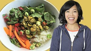 What Emmy Eats in a Week 2019 - easy ways to get greens & fermented foods in your diet