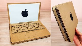 How to Make Cardboard Laptop Apple MacBook