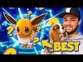 Pokemon GO - BEST EVER EEVEE EVOLUTION! (OMG!)