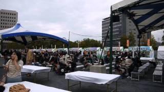 旧広島市民球場跡地でこのお好み焼を中心とした「広島てっぱんグランプ...