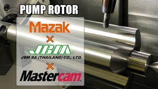 Mastercam and MAZAK 2020 Pump …