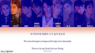 EXO - Hurt (OT9  VER.) (Color Coded Lyrics) [Han/Rom/Eng]