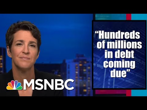 Perils Of Trump Driven By Debt Desperation A Concern Raised By NYT Tax Story | Rachel Maddow | MSNBC