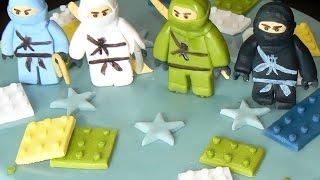 Ниндзяго из мастики. Как сделать ниндзяго. Lego Ninjago