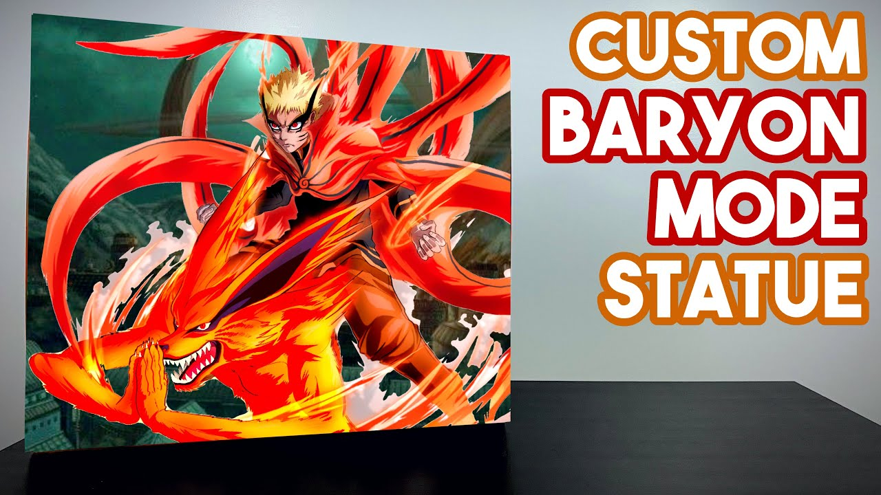 ONE OF A KIND 💎 Naruto : Baryon Mode Statue by @Just Hobby from Boruto feat. Kurama