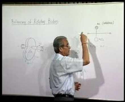Module 3 - Lecture 1 - Unbalance in Machines...