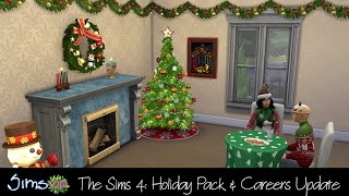 The Sims 4: Careers Update, MoveObjectsOn, and Holiday Game Pack