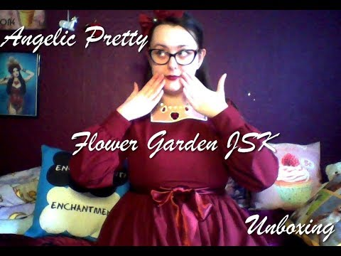 Angelic Pretty Flower Garden JSK Unboxing
