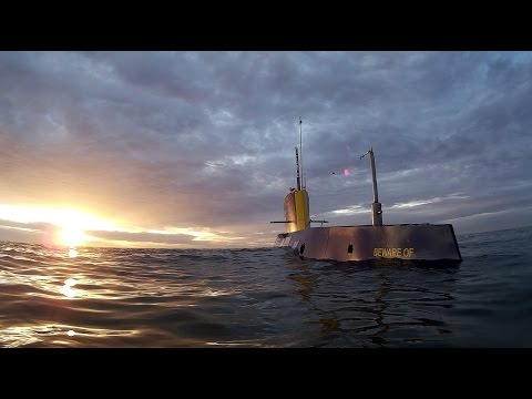 Inside the largest amateur built submarine