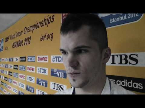 Jakub Holusa 800m Istanbul  2012 silver