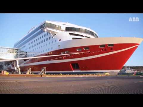 Drives for electrically driven deck winches, Norwegian Deck Machinery and m/s Viking Grace
