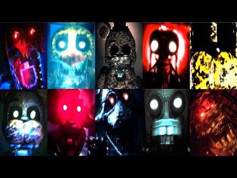 35 IGNITED JUMPSCARES!   The Joy of Creation   All Jumpscares