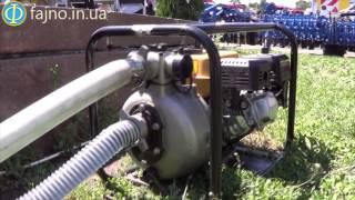 видео Высоконапорные мотопомпы