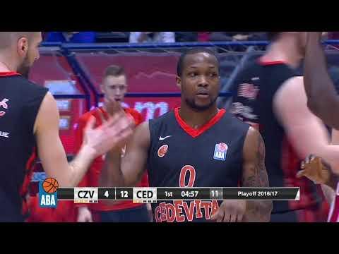 ABA Liga 2016/17, Finals, Round 1 match: Crvena zvezda mts - Cedevita (10.4.2017)