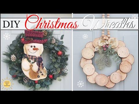 DIY CHRISTMAS WREATHS   FARMHOUSE HOLIDAY DECOR   ULTIMATE WREATH PLAYLIST   COFFEE WITH MY SUNSHINE