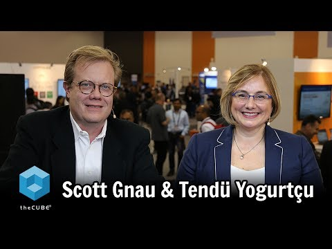Scott Gnau, Hortonworks & Tendü Yogurtçu, Syncsort- #DataWorks - #theCUBE
