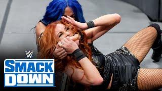 Becky Lynch vs Sasha Banks SmackDown Oct 15 2021
