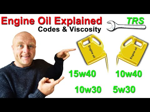 Engine oil Codes Explained/How Multi-grade oil Changes Viscosity/How it works