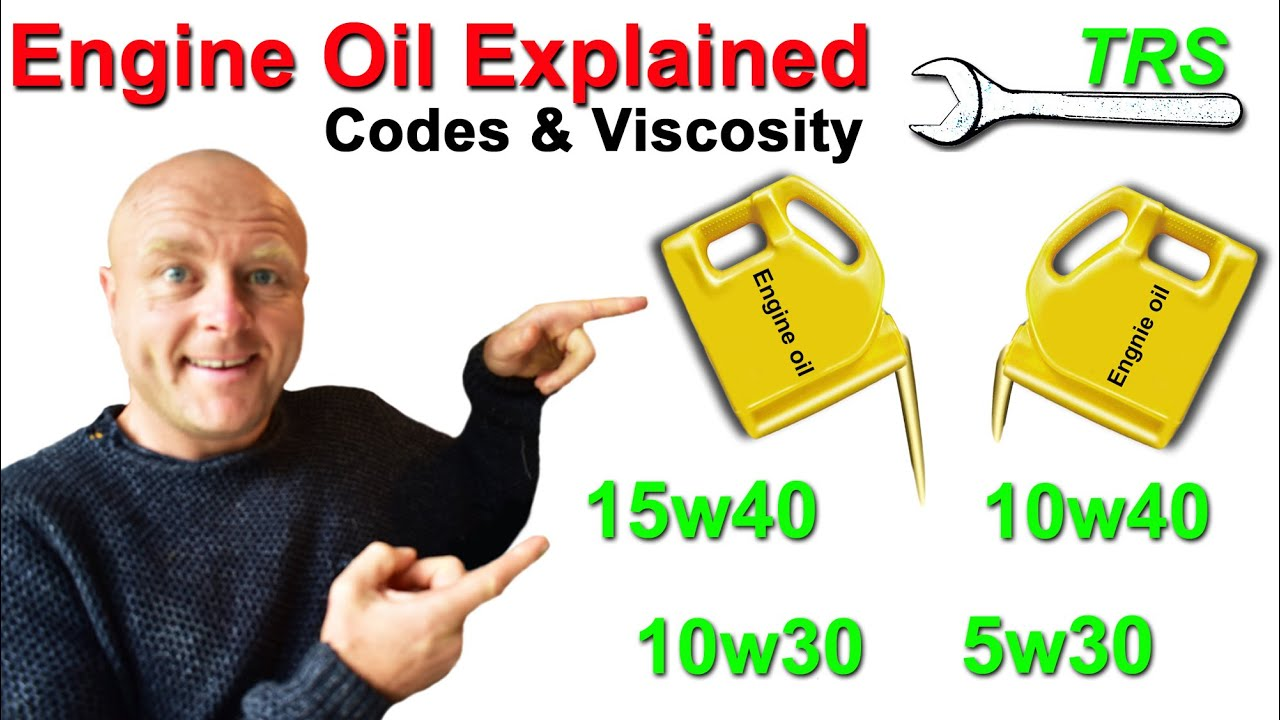 How multi grade oil changes viscosity engine oil codes for Motor oil weight explained
