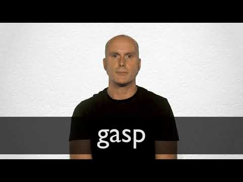 Gasp definition and meaning | Collins English Dictionary