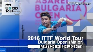 2016 Bulgaria Open Highlights: Quentin Robinot vs Mikhail Paikov (1/2)(Review all the highlights from the Quentin Robinot vs Mikhail Paikov (1/2) match from the 2016 Bulgaria Open Subscribe here for more official Table Tennis ..., 2016-08-28T14:49:14.000Z)