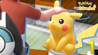 Pokémon Lets Go Ep.1 - PIKACHU ! EEVEE ! TE ELIJO A TI (Parte 1 en Español)