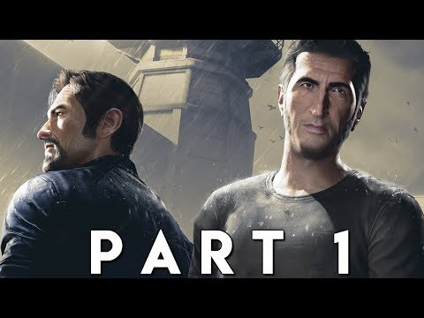 A WAY OUT Walkthrough Gameplay Part 1 - INTRO (PS4 Pro)