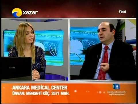 Dr. Zülfüqar YUSİFOV  - Diz oynağı artrozu (Ankara Medical Center - Sağlıqla - Xəzər TV)