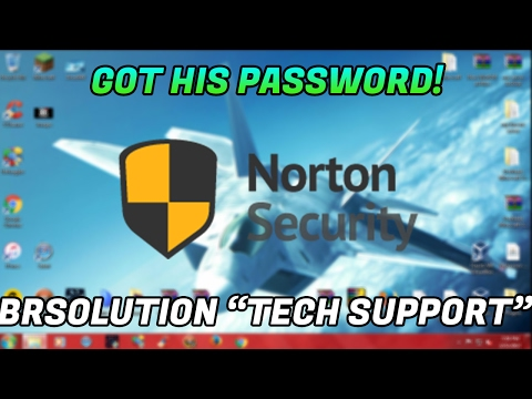 """GETTING A SCAMMERS NORTON PASSWORD """"BrSolutions"""" 