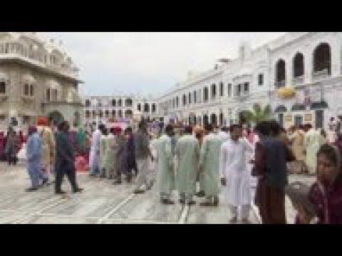 Thousands Cross India-Pakistan Border For Vaisakhi