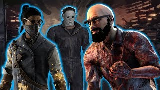 TIER 1 MYERS VS MONTO AND PUPPERS! Survivor Gameplay Dead By Daylight
