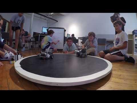 AVA Gallery Summer Camp Robotics August 24