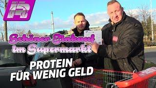 Günstiger Supermarkt-Einkauf - Mein Tipp für Protein, Kohlenhydrate, Fett
