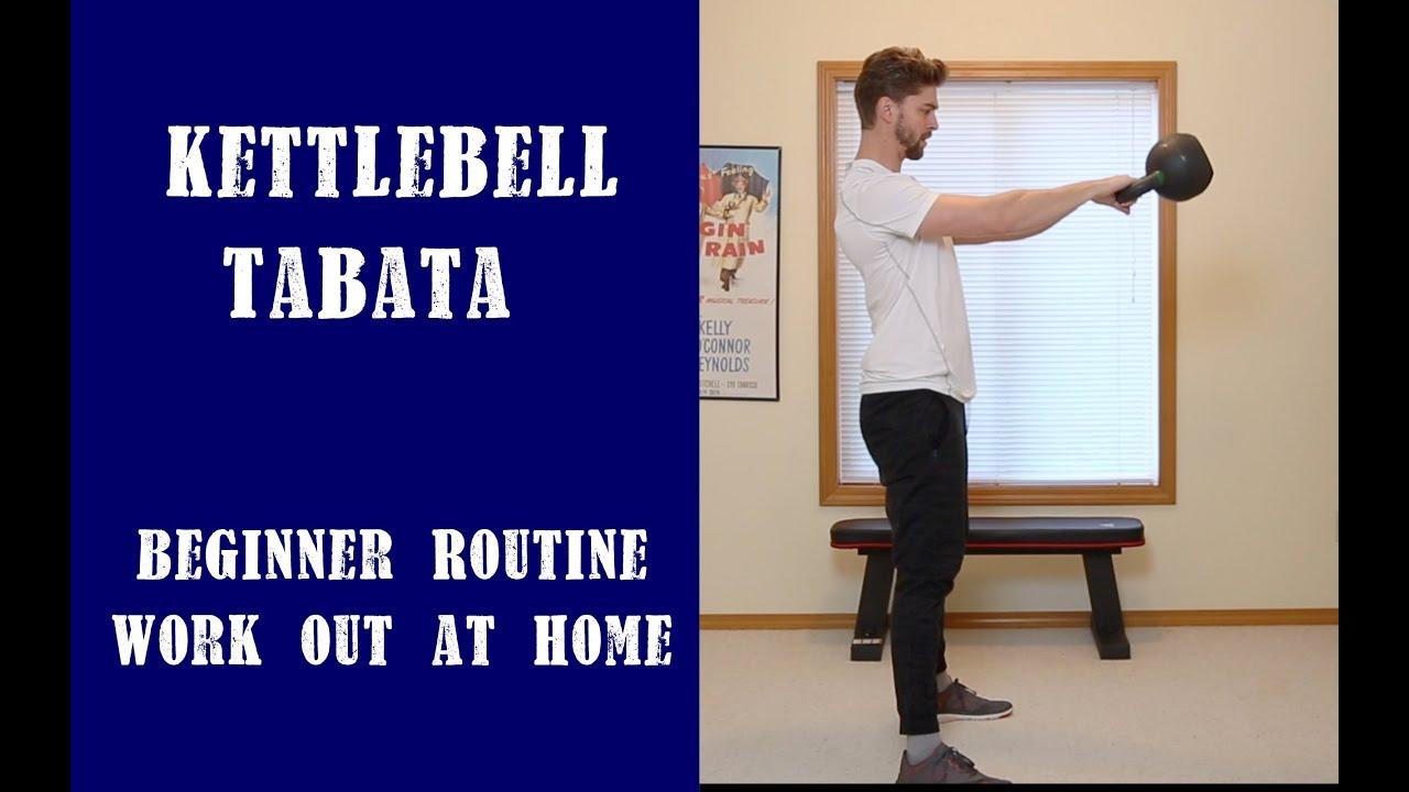 Beginner Hiit Tabata Kettlebell Workout Youtube