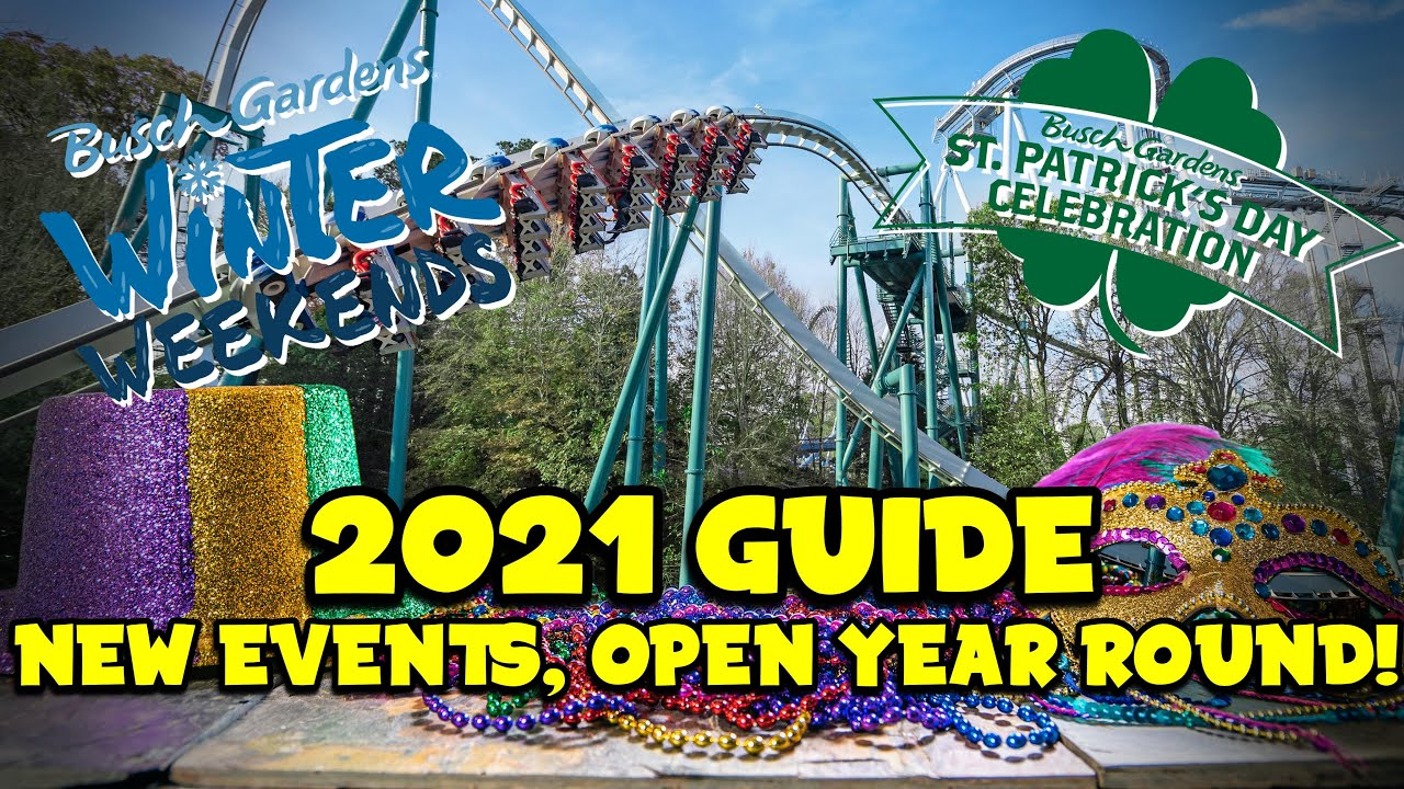 Busch Gardens Williamsburg 2021 Guide New Events Pantheon And More Youtube