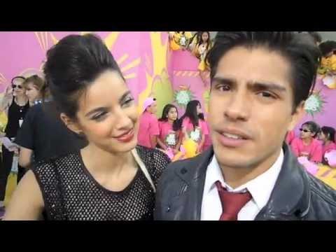 s with Maria Gabriela de Faria and Reinaldo Zavarce Kids Choice Awards 2013 KCA