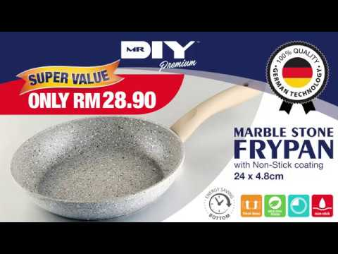 MR DIY Marble Stone Frypan