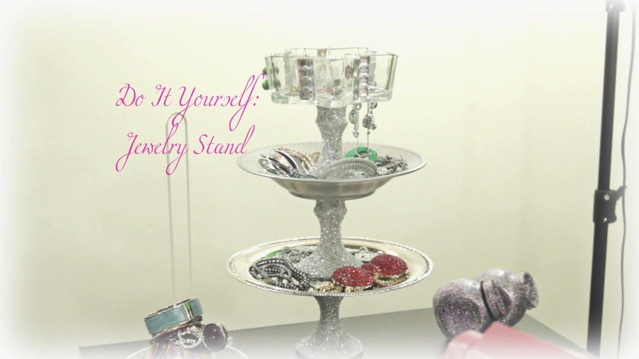 Do It Yourself Jewelry: Do It Yourself: Jewelry Stand ♥