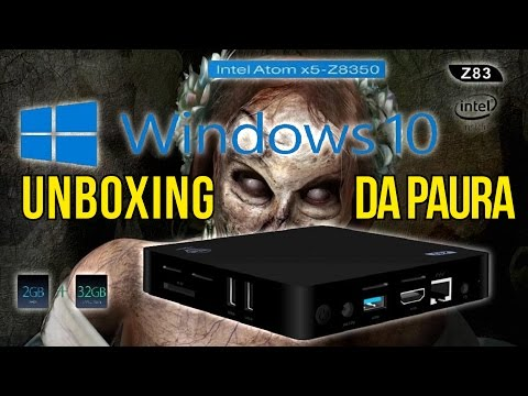 Mini PC Z83 II  Unboxing da paura!