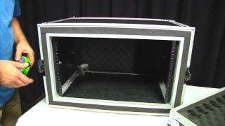 OSP 6 space shock mount amp rack road tour flight case - review