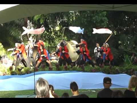 "PBA ""Soran Bushi"" Peace Celebration at Foster Botanical Garden"